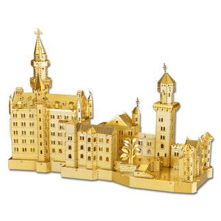 3D-Miniaturen - Schloss Neuschwanstein Hochwertige Edelstahl – Miniaturen in 3D. Jetzt auch in Gold und Silber.