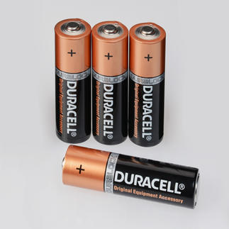 "Batterien 4er-Set, 1,5 V Mignon Duracell ""Advanced Long Life"" Alkaline Batterien"