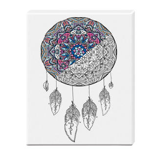 Zen-Color™ Keilrahmen-Bild - Traumfänger Zen-Color™ - Die Art des Entspannens.
