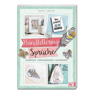 """Buch - Handlettering-Sprüche zum Ausmalen Buch """"Handlettering-Sprüche zum Ausmalen""""."""