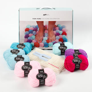 Pompon-Set, Multicolor