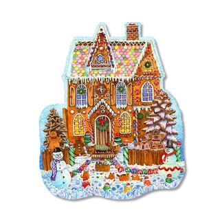 Puzzel - Lebkuchenhaus Puzzeln