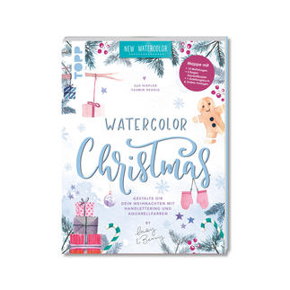 Watercolor Christmas - Kreativ-Mappe