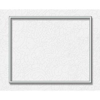 Alu-Rahmen für Malen nach Zahlen Bilder, Silberfarben, 40 x 50 cm Hochwertige Alu-Rahmen für Ihre Meisterwerke.