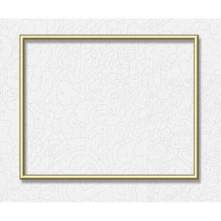 Alu-Rahmen für Malen nach Zahlen Bilder, Goldfarben, 40 x 50 cm Hochwertige Alu-Rahmen für Ihre Meisterwerke.