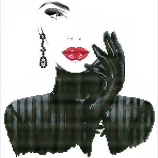 Diamond Dotz® - Lady in Black Diamond Dotz® – Steinchen für Steinchen zum spektakulären Ergebnis.