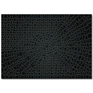 Puzzle - Krypt, Black