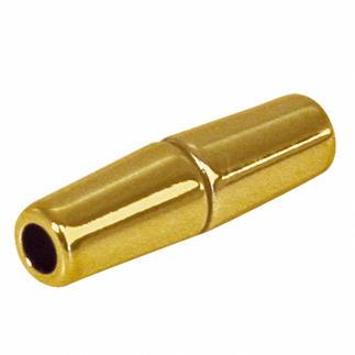 Magnetschließe Olive aus Kunststoff Zubehör für Ihren individuellen Schmuck.