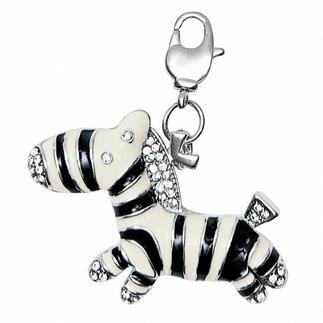 Anhänger - Zebra mit Strass Modische Ketten nach Lust und Laune kombinieren