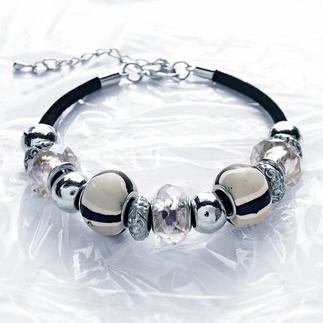 Komplettpackung - Frühlingshafte Armbänder Exklusiver Perlenschmuck.