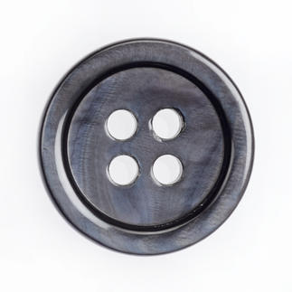 Klassischer Perlmuttknopf, 1 Stück