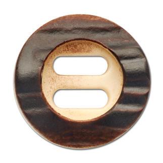 Trachtenknopf, Hornoptik, Ø 20 mm, 1 Stück