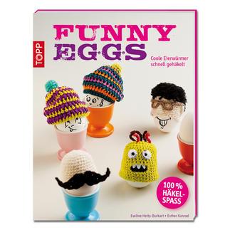 Buch - Funny Eggs Coole Eierwärmer schnell gehäkelt.