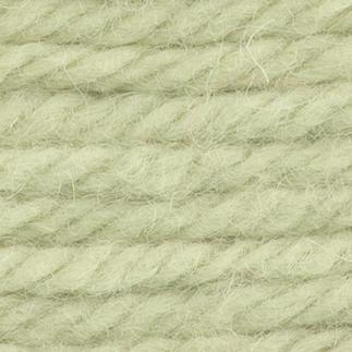 Smyrna-Strangwolle, 50 g, Saatgrün Ideal für Ihre eigenen Entwürfe - zum Häkeln von Teppichen und Kissen geeignet. Hochwertige Junghans-Garne zum Häkeln.