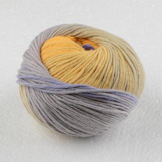 Pinta von Junghans-Wolle - % Angebot %, Lila-Gelb Pinta von Junghans-Wolle - % Angebot %