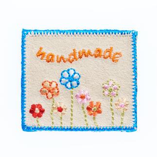 Label - Handmade Blumen