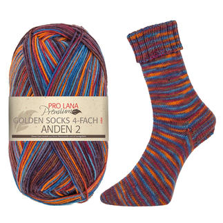 Golden Socks Anden 2,4-fach von Pro Lana