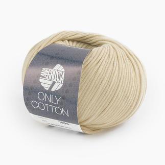 Only Cotton von Lana Grossa - % Angebot %, Elfenbein