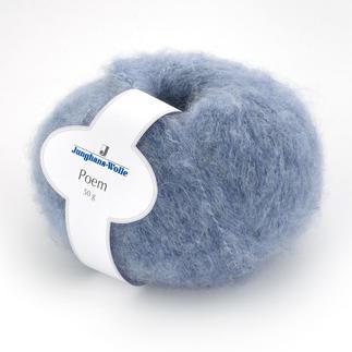 Poem von Junghans-Wolle Softes Garn mit fluffigem Alpaka-Anteil