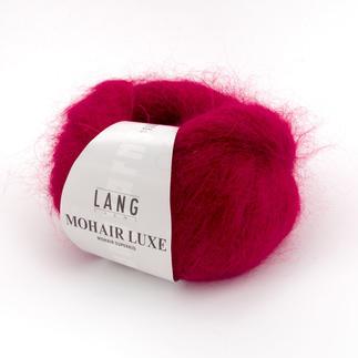Mohair Luxe von LANG Yarns Hauchzartes Luxusgarn.