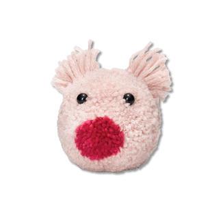 Prym Pompon Schablone - Schwein Percy