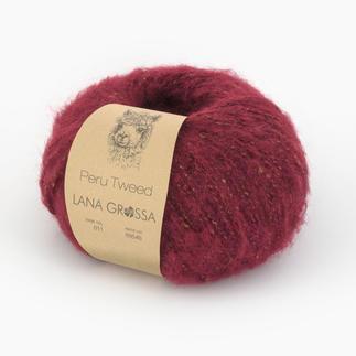 Peru Tweed von Lana Grossa, 11 Ziegelrot Peru Tweed von Lana Grossa