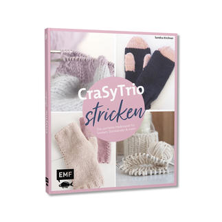 Buch - CraSyTrio stricken CraSyTrio stricken – Das perfekte Nadelspiel für Socken, Stirnbänder und mehr.