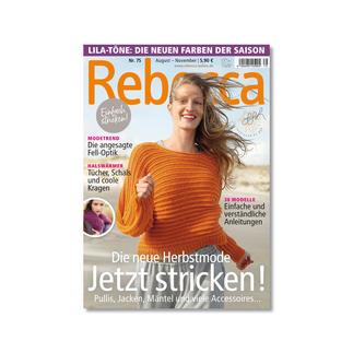 Heft - Rebecca Nr. 75 Die neue Herbstmode - Jetzt stricken!
