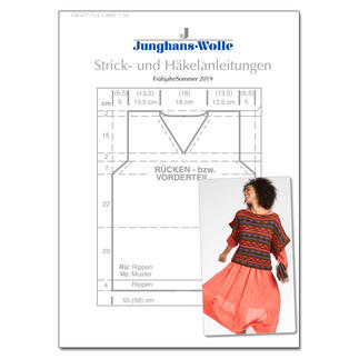 Anleitungsheft WoolDesign Frühjahr/Sommer 2019 Junghans-Wolle Anleitungsheft