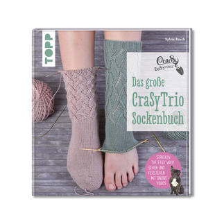Buch - Das große CraSyTrio-Sockenbuch CraSy eaSyness: Das große CraSyTrio-Sockenbuch.
