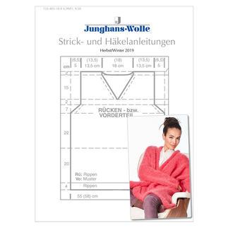 Anleitungsheft WoolDesign Herbst/Winter 2019 Das Junghans-Wolle Anleitungsheft