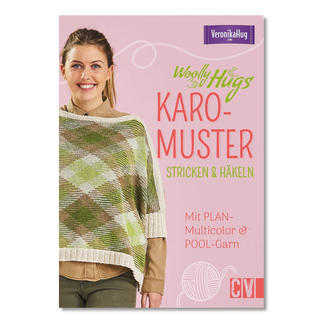 Buch - Woolly Hugs Karo-Muster stricken & häkeln