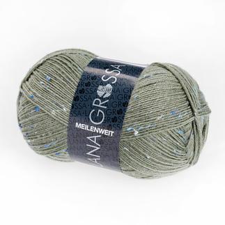 Sockenwolle Meilenweit 100 Tweed von Lana Grossa