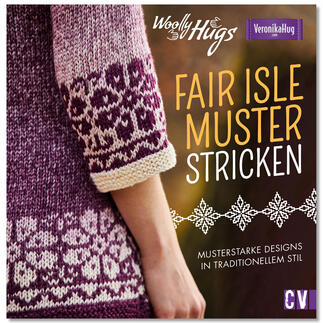 Buch - Woolly Hugs Fair-Isle-Muster stricken