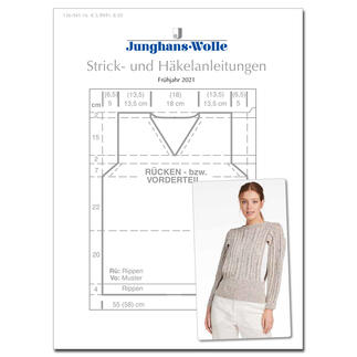 Anleitungsheft WoolDesign Frühjahr/Sommer 2021