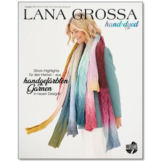 Heft - Lana Grossa Hand-Dyed Nr. 3