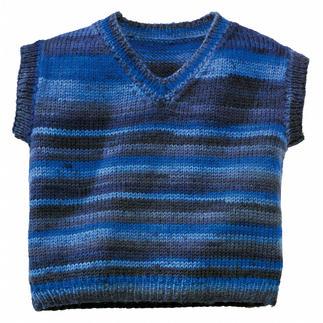 Anleitung 273/0, Kinderpullunder aus Freizeit Color 6-fädig von Junghans-Wolle