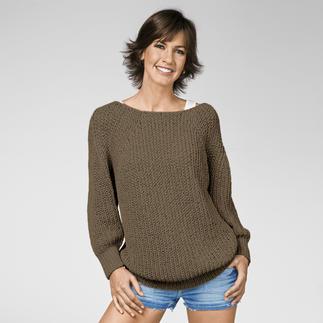 Anleitung 193/3, Oversize Pullover aus Bandana von Junghans-Wolle