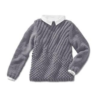 Anleitung 209/4, Pullover aus Merino Dick von Junghans-Wolle