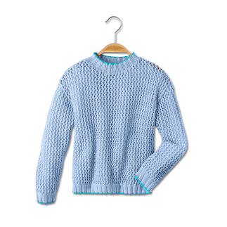 Anleitung 465/5, Pullover aus Cotonia II von Junghans-Wolle