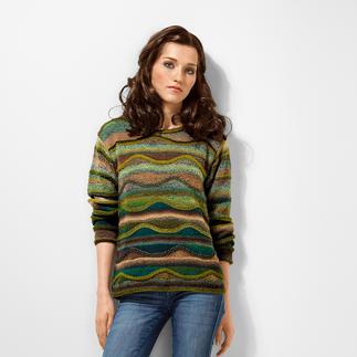 Anleitung 377/6, Pullover aus Zauberball® Crazy von Schoppel Wolle