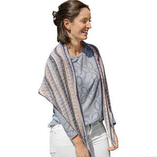 Anleitung 081/7, Tuch aus Bandy Color von Woolly Hugs