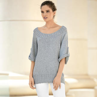 Anleitung 113/7, Pullover aus Silk Viscose von Katia