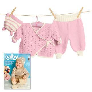 Babyjacken Und Babypullover Stricken Strickanleitungen Und Vieles Mehr