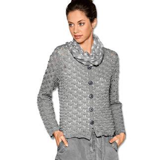 Anleitung 242/7, Damen Jacke aus Dacapo von Junghans-Wolle