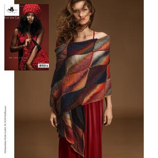 Anleitung 286/7, Schal, 54 x 180 cm aus Zauberball® Stärke 6 von Schoppel Wolle
