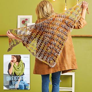 Anleitung 373/7, Häkeltuch aus Bandy Color von Woolly Hugs