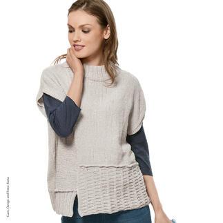 Anleitung 414/7, Pullover aus Velvet Fine von Katia