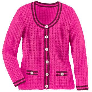 Anleitung 421/7, Damen Jacke aus Merino-Cotton von Junghans-Wolle