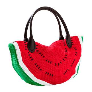 Anleitung 002/8, Tasche aus Cotonara von Junghans-Wolle